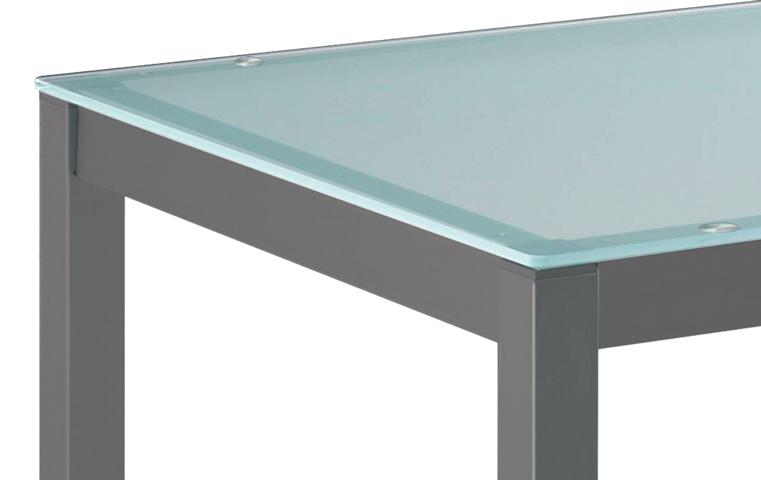 Mesas y sillas cocinas ferri for Mesas redondas de cocina de cristal